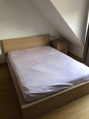 Schlafzimmer Ausstattung komplett Ikea MALM