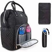 Easio Premium Baby Wickelrucksack schwarz