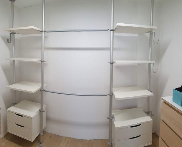 Schrank IKEA Stolmen System Schlafzimmerschrank