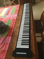 Roll up Piano USB-Piano stabil