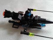 LEGO Raumgleiter schwarz