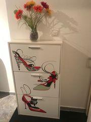 Schuhschrank Wandbefestigung 30 -