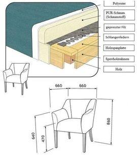Bild 4 - SESSEL KÜCHENSTUHL WOHNZIMMER RELAXSESSEL SITZER - Ismaning