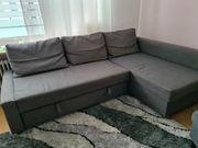 Couch Ecksofa IKEA Friheten grau