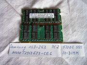 Arbeitsspeicher f Notebook 3 GB