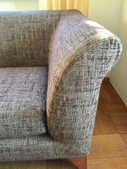 Sofa Ottomane 2-Sitzer neu bezogen