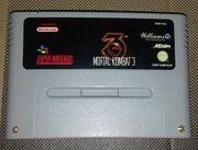 Snes Spiel MK3 Mortal Kombat