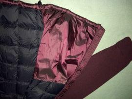 Designerbekleidung, Damen und Herren - Neuwertige Herren Daunenfederjacke mit Strickärmel