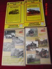 Eisenbahnvideos VHS