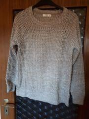Winter-Pullover Gr XXL Hellbraun meliert