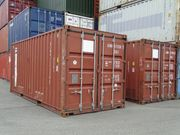 20 DV Lagercontainer Seecontainer Schiffscontainer