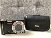 Panasonic Lumix DMC-TZ7 inkl Ledertasche