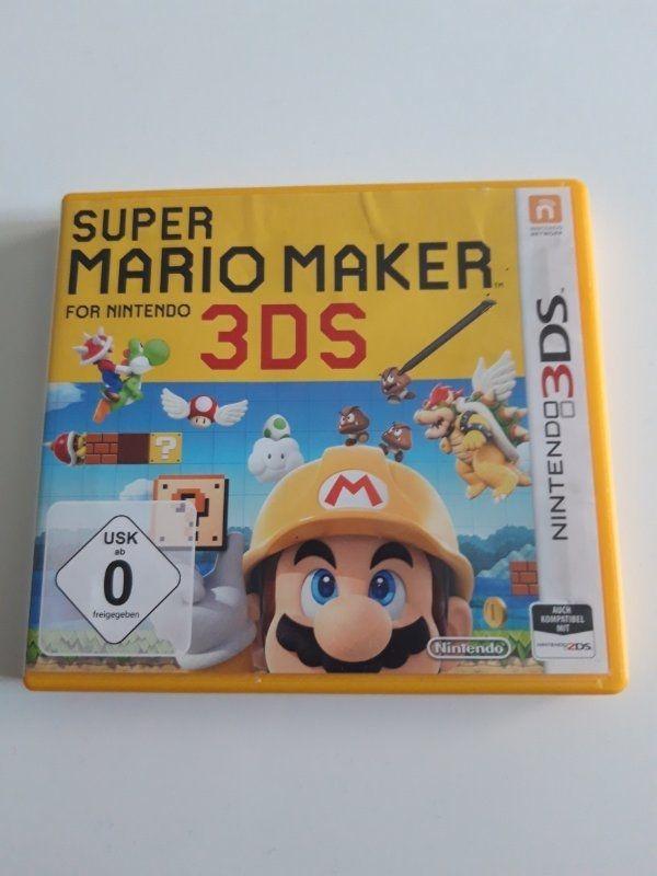 Super Mario Maker 3DS Spiel