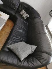 Echtleder Marken Couch incl Echtleder
