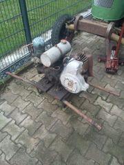 eine alte holder Pumpe
