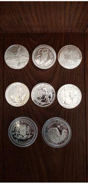 Silber Anlagemünzen