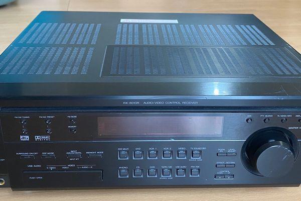 JVC RX-8010R AV-Receiver schwarz