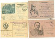 Suche Feldpostkarten mit Aufdruck