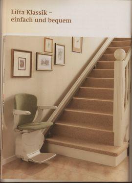 Treppenlift 420 Starla, gebraucht für den Innenbereich