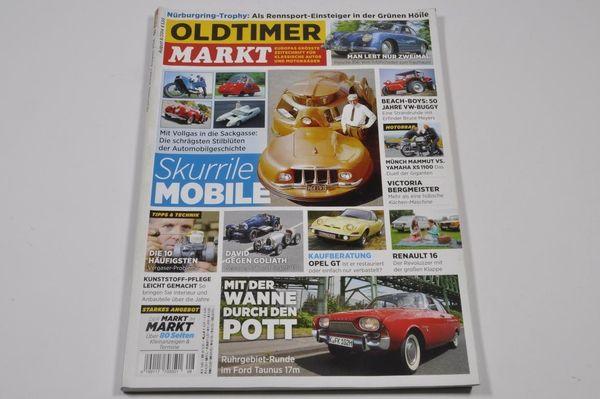 Oldtimer MARKT 08 2014 - Porsche