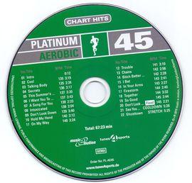 Aerobic-Musik Platinum Aerobic 45: Kleinanzeigen aus Leipzig Zentrum-Süd - Rubrik Fitness, Bodybuilding