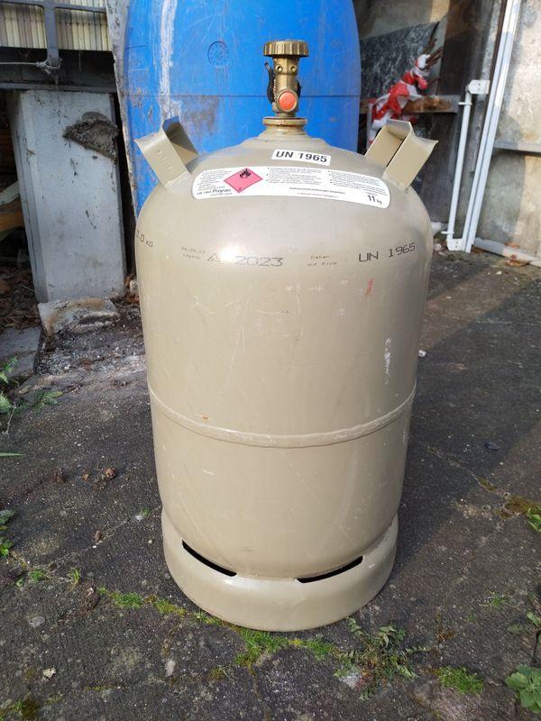 Propangas 11 kg Flasche -VOLL