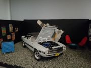 1 18 Diorama -Ford Mustang