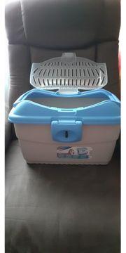 Schnäppchen neuwertige Transportbox für Kleintiere