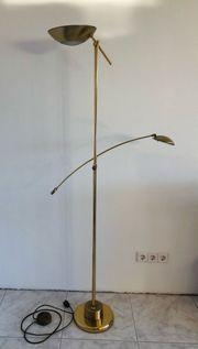 Stehlampe Messinglampe aus Gold Lampe
