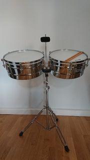 Schlagzeug Millenium Timbales-Set TB200