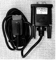 älteres Siemens Datenkabel RS-232 für