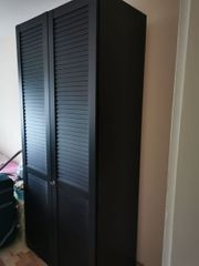 Kleiderschrank schwarz