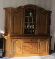 Wohnzimmerschrank Eiche Rustikal - Haushalt & Möbel - gebraucht und ...