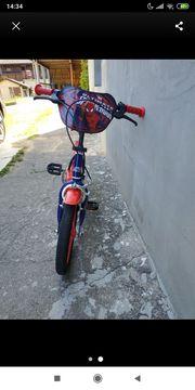 Kinderfahhrad Spiderman Edition