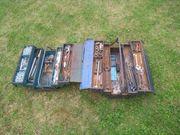 Werkzeug Kasten mit Werkzeug