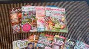 Verschiedene Gartenzeitschriften