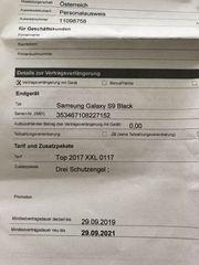 Samsung S9 black offen Neu