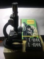 Mikroskop Hallwag ANB 100x300x600 NEU