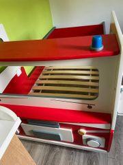 Feuerwehrautobett Kinderbett
