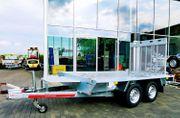 Maschinentransporter Anhänger2700Kg3mx1 5m2 Achsen