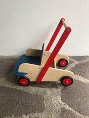 Lauflernwagen aus Holz