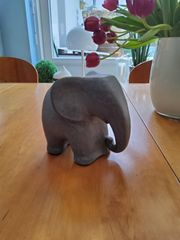 Elefant Karlsruher Majolika 50-er 60-er