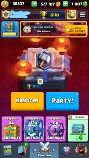 Clash Royale Account LV 13