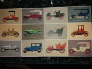 Alte Postkarten Opel Oldtimer für