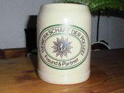 Deutsche Polizei Bierkrug Wappen GDP