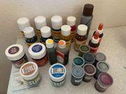 Seidenmalfarbe 24 verschiedene Farben 1x