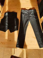 Anzug Gr 170 schwarz mit