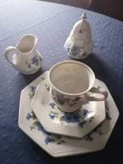 Kaffeeservice Gallo Veilchen blau
