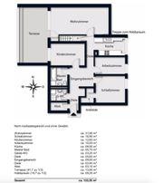 Elegante 4-Zimmer Wohnung in sehr guter