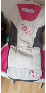 Kinderhochstuhl kindersafety in pink weiß